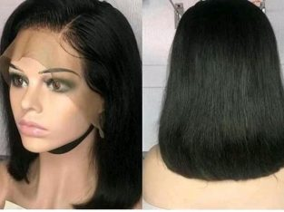 10″straight hair with frontal