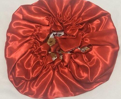 Niode Satin 2 IN 1 Reversible Satin Bonnet Sleep Cap Or Hair Bonnet