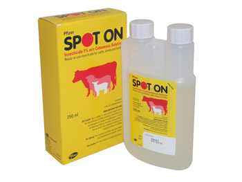 Fly & Lice Spot On- Cattles, Sheeps, Lambs