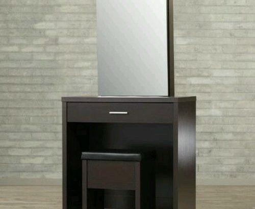 3 Feet Orion Dressing Mirror With Stool