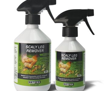 Nettex Scaly Leg Remover Spray- Poultry; 500ml
