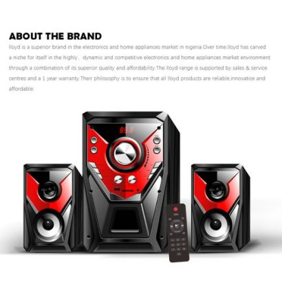 LLOYD Mini Usb 2.1 I989A Cable Combination Loudspeaker Bass Music Subwoofer Mobile Phone Laptop- Bla