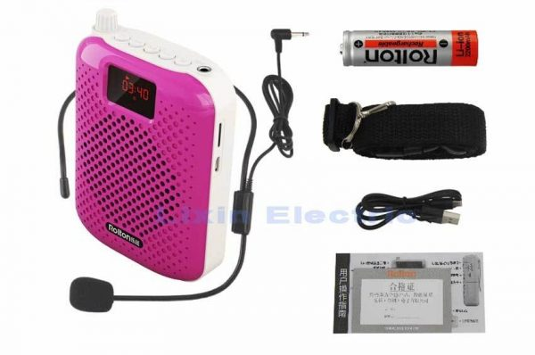 Rolton K500 Bluetooth Loudspeaker Microphone Voice Amplifier Booster Megaphone Speaker For Teaching