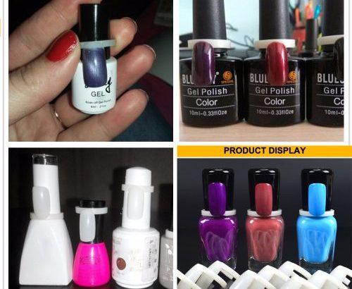 50 Pcs False Nails DIY Nail Polish Color Swatch Display Card Ring For Nail Art