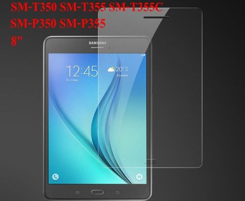 Tempered Gl Screen Protector CASE Film For Samsung Galaxy Tab A 8.0 S Pen 2015 SM T350 SM T355 SM P3