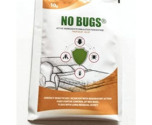 Jubaili Agrotec NO BUGS® For Bedbugs, Lice, Ticks, Fleas, Etc Insecticide Powder