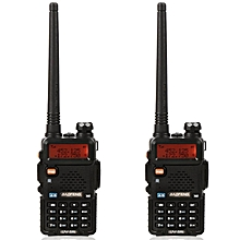 Baofeng HT Baofeng UV-5RE 5KM Walkie Talkie Dual Band Portable 2 Way Radio UV5RE (1pc)