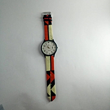 Female Ankara Wrist Watch Design – Multi