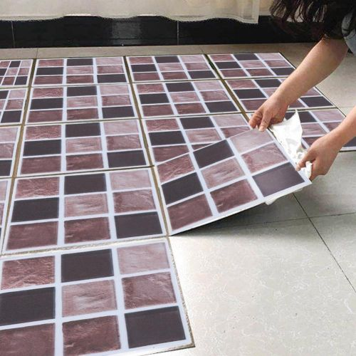 18pcs Mosaic Tile Transfer Sticker – Sticker Design