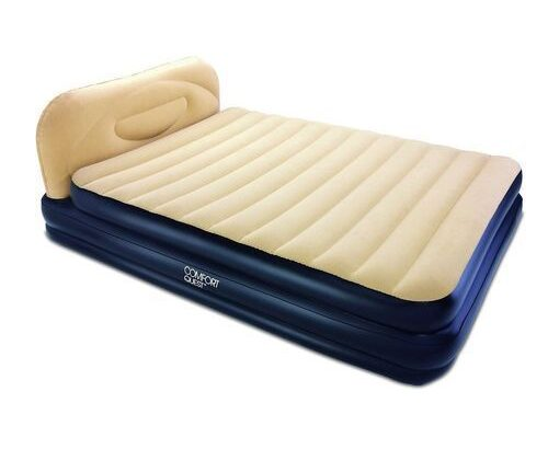 Bestway Comfort Soft Back Elevated Queen Airbed – Built In Pump