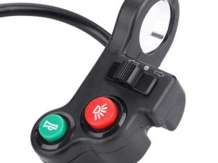 DK-04 3-in-1 Head Light Switch Horn Turn Signal For Motorcycle E-Bike Scooter