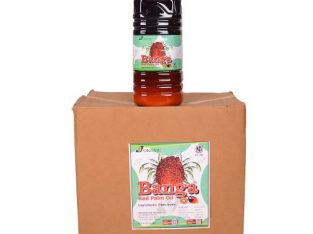Okomu Banga Red Palm Oil 4 Liters – Carton (6 Bottles)