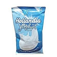 Hollandia Yoghurt Sachet Drink (Carton Of 24) -Plain Sweetness