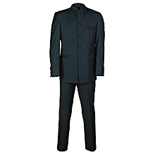 Men Short Hand Safari Suit