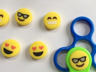 1 Pcs Emoji EDC Hand Fidget Spinner Finger Gyro Anti Stress autism Toys