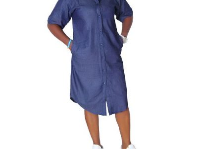 Ladies Shirt Denim Jeans Gown