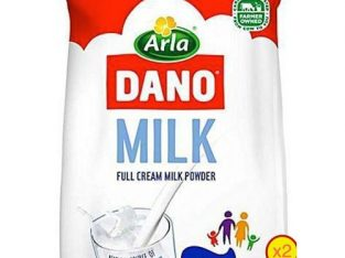 Dano Full Cream Milk Powder – 360g (Refill) X 2