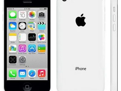 Apple IPhone 5C 8GB White 4G LTE 4-inch Screen (Gift:accessories) Smart Phone