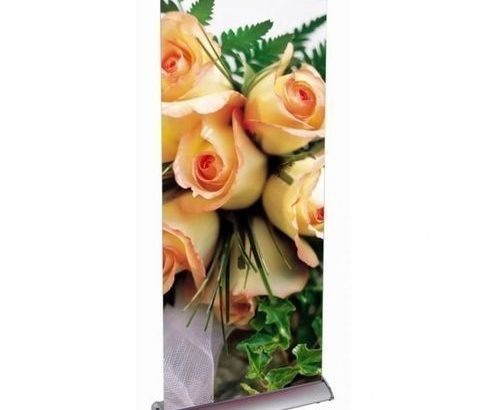 Roll Up Banner Stand – Flatbase