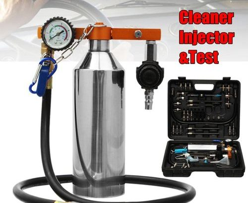 Upgrade 750ml Non-Dismantle Fuel Cleaner Injector And Test For Petrol EFI Throttle 0 out of 5