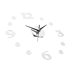 3D Wall Clock Quartz Movement Hands DIY Decor