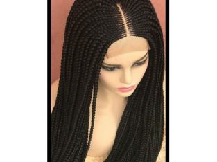 Ghana Weaving -Box Braid Wig With Closure