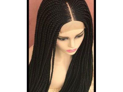 Ghana Weaving -Box Braid Wig With Closure