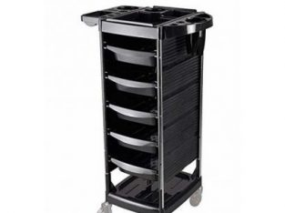 Salon Spa Trolley Black