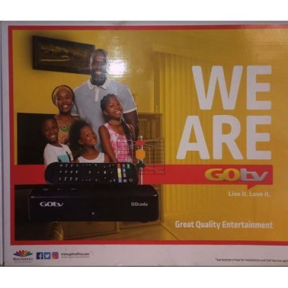 GoTV Decoder – Gotv Decoder And 1 Month Gotv Max Subscription