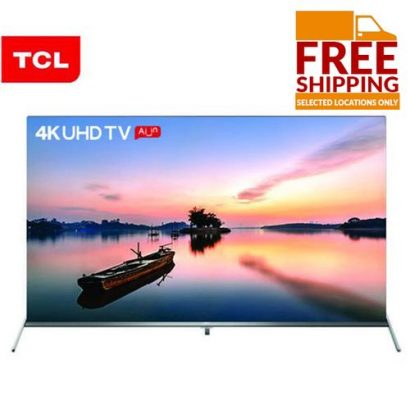 TCL 55-Inch 4k Android Smart UHD Edgeless TV