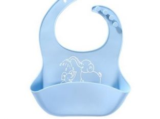 Kids Silicone Bibs – Waterproof Soft Baby Feedin