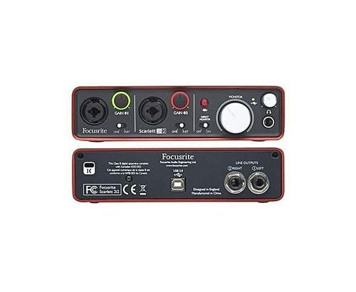 Focusrite Scarlett Solo Studio (3rd Gen) USB Audio Interface And Recording Bundle With Pro Tools