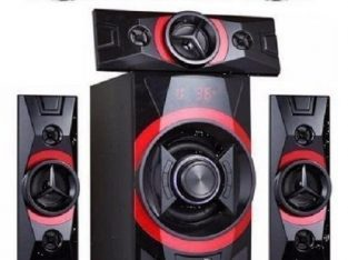 Hisonic Home Theatre With Bluetooth + DVD Player