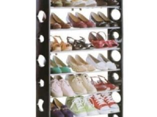 Stackable Shoe Rack – 20 Pairs