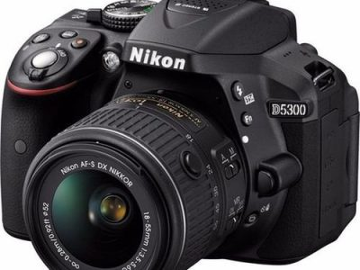 Nikon D5300 DSLR Camera With AF-P 18-55mm Lens + 32GB