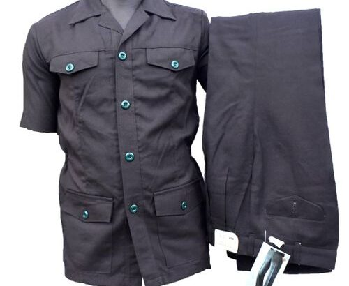 Men Short Hand Safari Suit