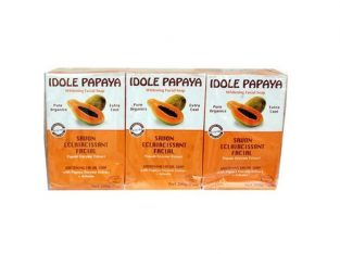 Idole Papaya Whitening Facial Soap