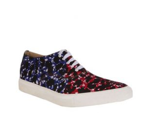 Unisex Ankara Sneakers – Multicolored