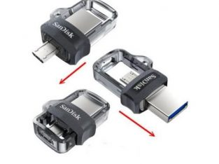 SanDisk 64GB Ultra OTG Dual USB Flash Drive 3.0