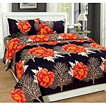 7 by 7 Quality Bedspread(comes With 4 pillow Cases) – Multicolor