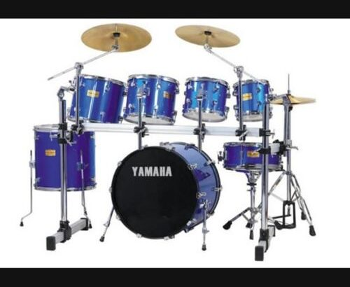 Yamaha 7PC DRUM SETS WITH BIG PEDAL