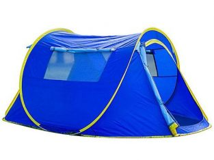 Outdoor Camping Tent Single Story Quick Opening Tent