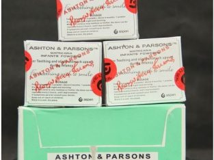 Glaxosmithkline 3 X 20 Sachets Ashton And Parsons Infant Baby Teething Powder 60 Sachets