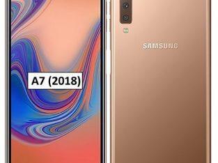 Samsung Galaxy A7 2018 – (A750F) 6.0 Inch (64GB, 4GB Ram) Android 8.0 Oreo 4G LTE – Gold