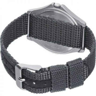 Lorus Men's Lumibrite Grey Fabric Web Strap Watch