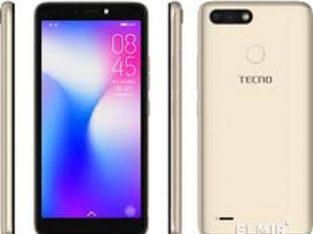 Tecno POP 2F(B1F)-5.5″ TOUCHSCREEN -16GB ROM + 1GB RAM -8MP + 5MP-FACE UNLOCK/FINGERPRINT-2400MAH-ch