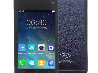 Itel 6910 4.0 Inch (8MB ROM + 8MB RAM) 2MP + 1.3MP Dual SIM 2G Phone Dark Blue