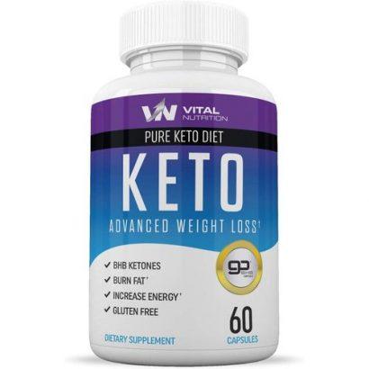 Keto Pure Keto Diet Pills (Ketosis Supplement To Burn Fat)
