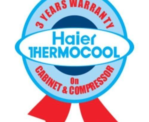 Haier Thermocool Double Door Fridge – HRF 95EX (BF 18)- Silver