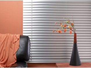 Aluminium Venetian Window Blinds – Silver – 2.5mm